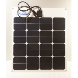SOLPANEL 50W SUNPOWER ETFE PANEL